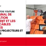 Vidéos tutos Youtube : le terminal de ventilation Multivent et les passe-câbles solaires sous les projecteurs et caméras